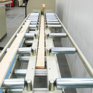 Rulliere equipaggiate con piani a rulli x marcatura