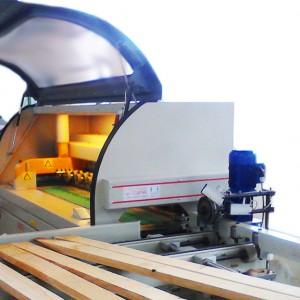 Scanner automatico larghezze con ottimizzatrice a tappeti