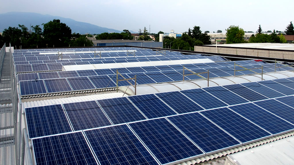 cursal stabilimento con impianto fotovoltaico